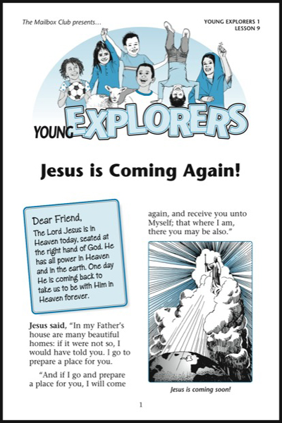 Lesson 9 - Jesus is Coming Again!