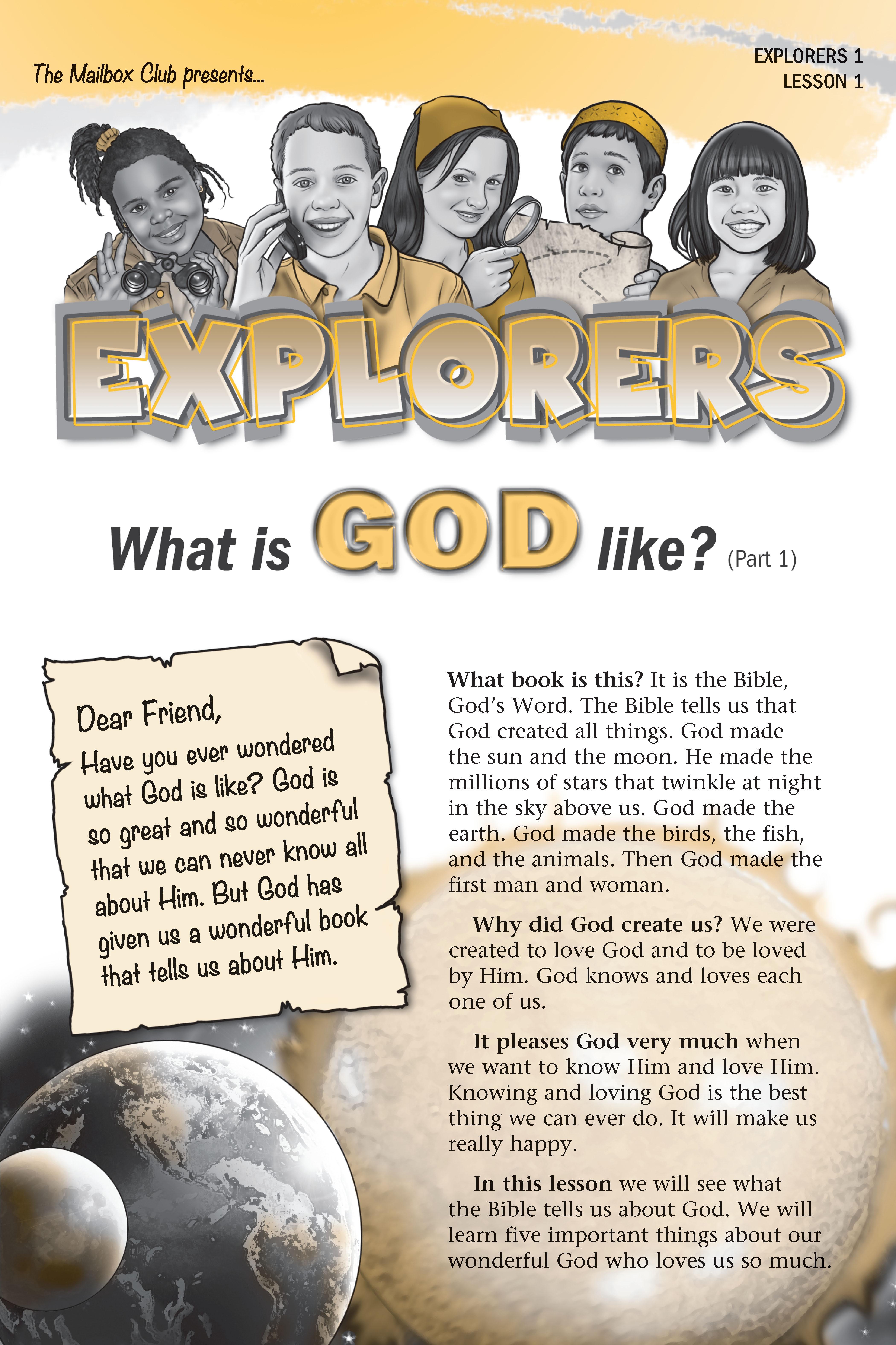 Full Set - Explorers Course 1