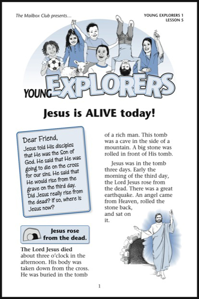Lesson 5 - Jesus is ALIVE today!